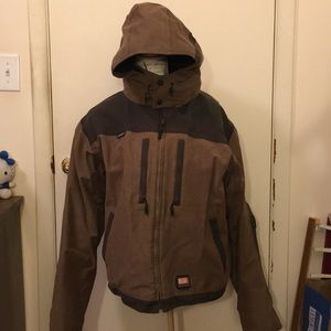 Rocky zip up winter coat waterproof size xl nice
